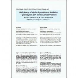 Int. Rev. Allergol. Clin. Immunol. Family Med., 2019, XXV/4: 151-154