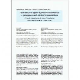 Int. Rev. Allergol. Clin. Immunol. Family Med., 2013, XIX/1: 048-054