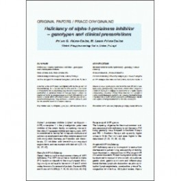 Int. Rev. Allergol. Clin. Immunol. Family Med., 2015, XXI/3: 105-108