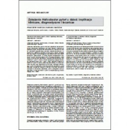 Pol. Merkur. Lek (Pol. Med. J.), 2020, XLVIII/284: 133-138