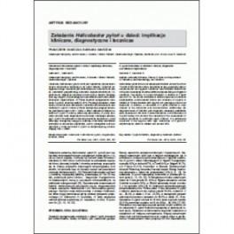 Pol. Merkur. Lek (Pol. Med. J.), 2012, XXXII/191: 313-317