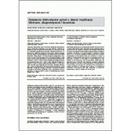 Pol. Merkur. Lek (Pol. Med. J.), 2012, XXXII/190: 256-259
